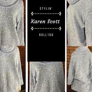 Karen Scott Women's Turtleneck Sweater